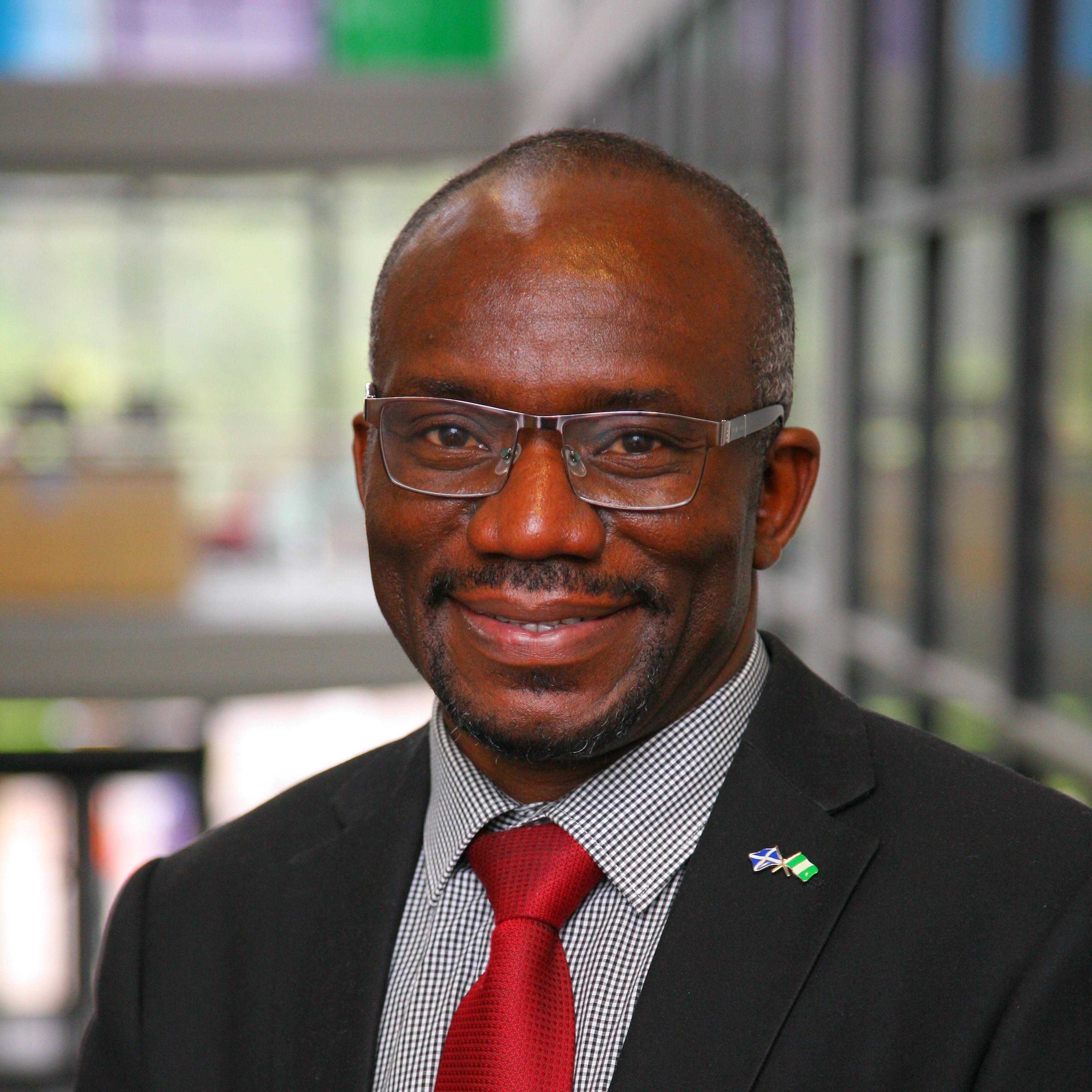 Doctor Ayodele Asekomeh